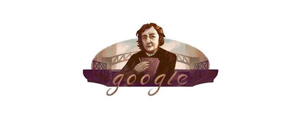 Google dedica il doodle a Alda Merini – Giuliano Grittini crea una nuova T-Shirt per lei