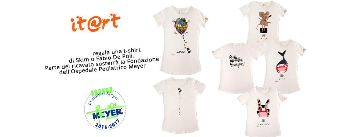 Sosteneteci in questa INIZIATIVA BENEFICA, donate e indossate ITART PER LA FONDAZIONE MEYER !