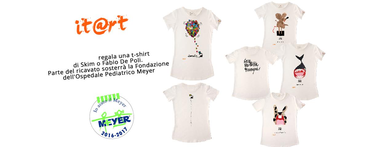 Donate e indossate ITART PER LA FONDAZIONE MEYER !